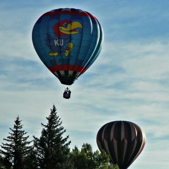 """Balloons Sneaking"" stock image"
