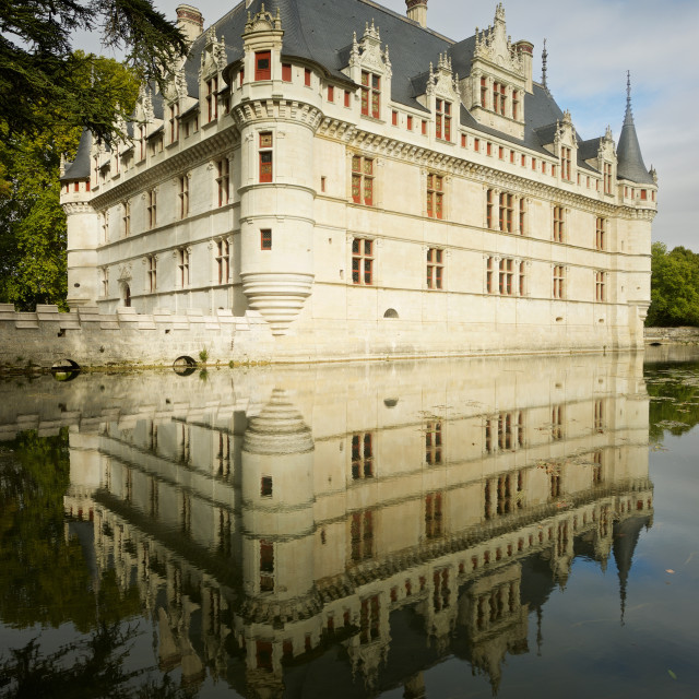 """""""Chateau Azay-Le-Rideau"""" stock image"""