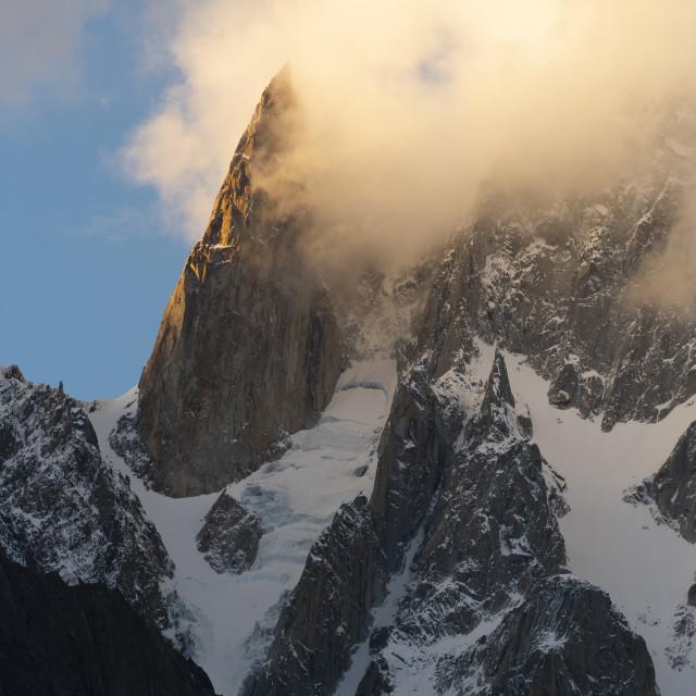 """Ladyfinger Peak"" stock image"