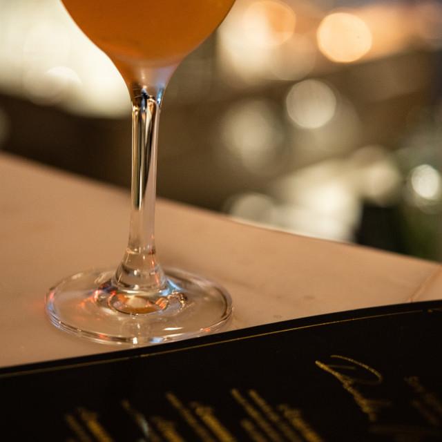 """Ovolo Cocktail Bar"" stock image"
