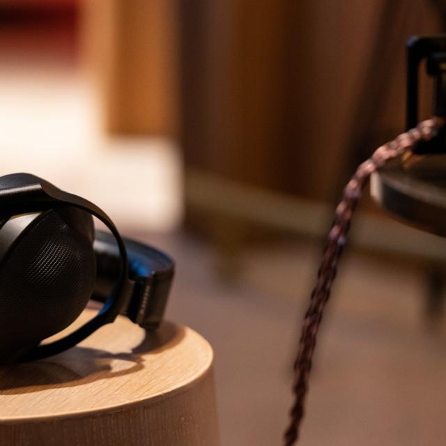 """""""Audio Perfection"""" stock image"""