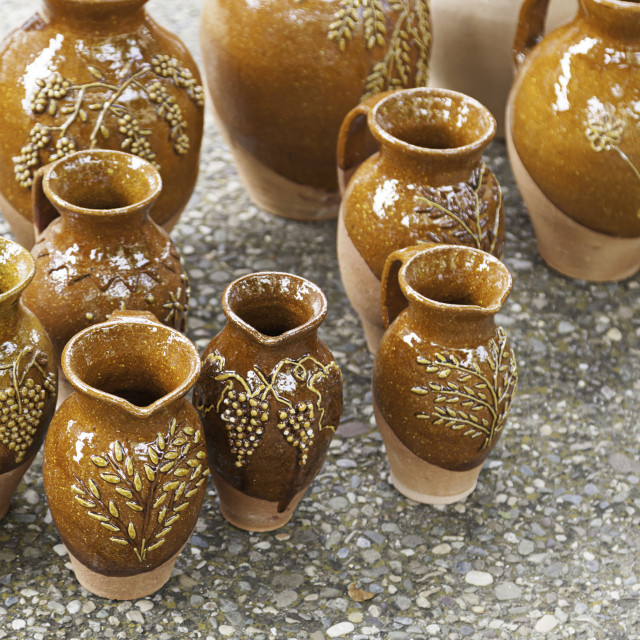 """Vases clay craft"" stock image"