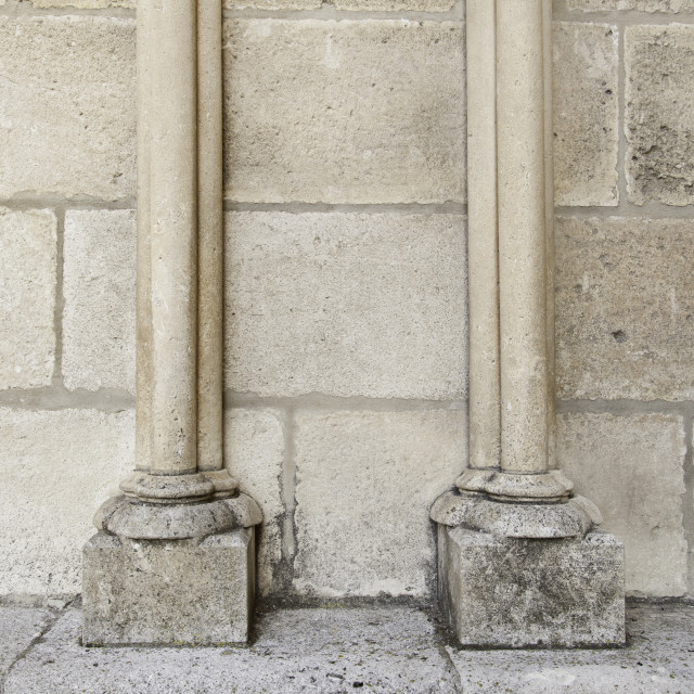 """Ancient stone columns"" stock image"