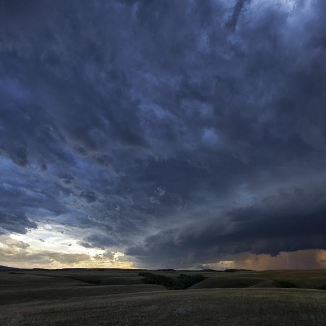 """prairie storm"" stock image"