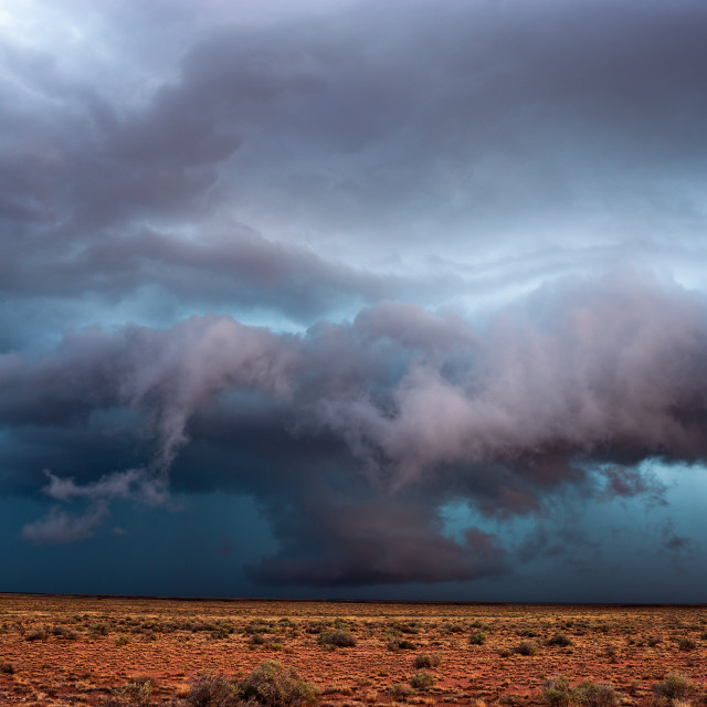 """""""Stormy sky with dramatic clouds."""" stock image"""