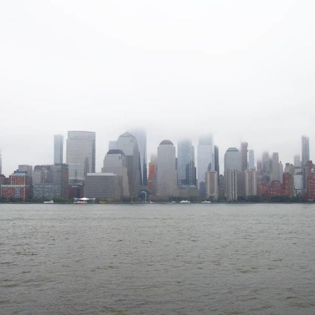 """New york's skyline"" stock image"