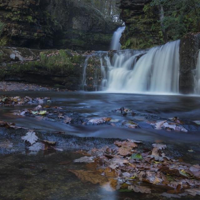 """Brecon Waterfalls"" stock image"