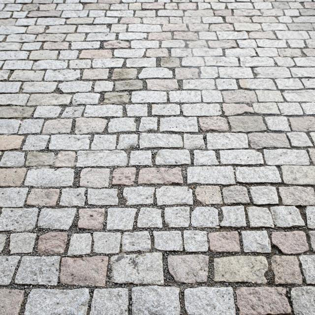 """historical pavement in prague city center"" stock image"