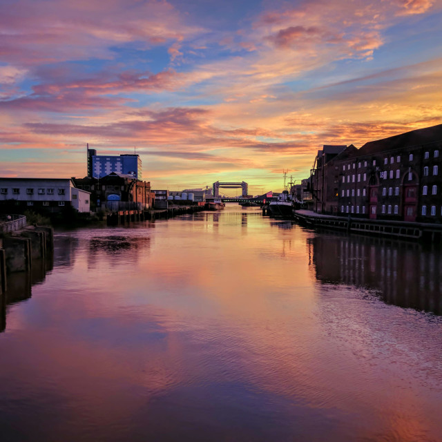 """River Hull"" stock image"
