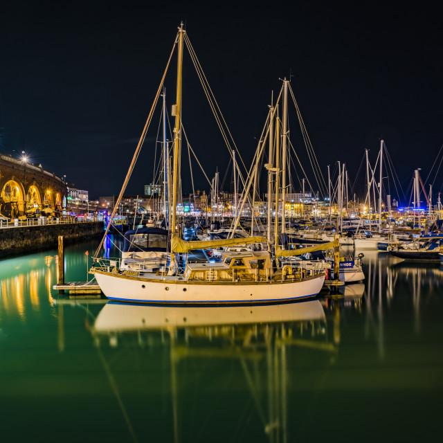 """Ramsgate Marina Kent"" stock image"