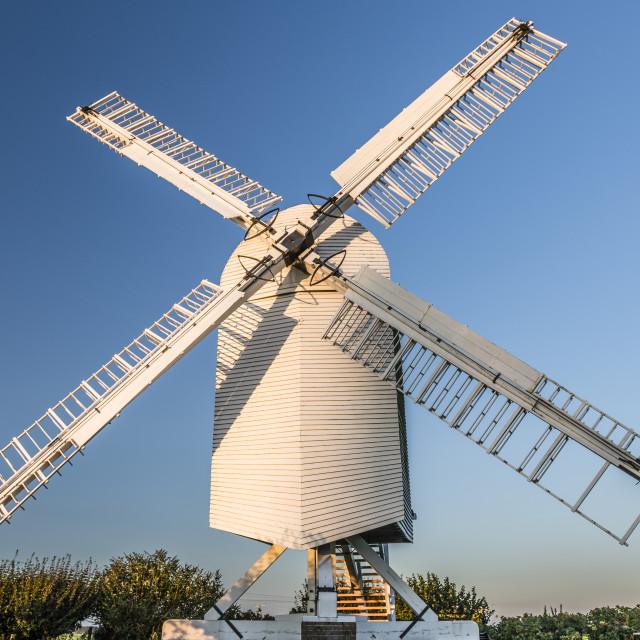 """Chillenden WIndmill Kent"" stock image"