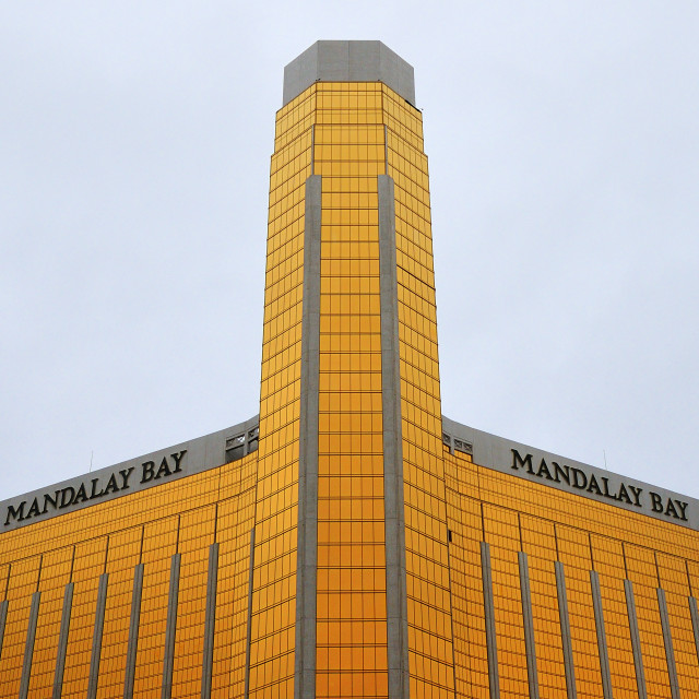 """Mandalay Bay"" stock image"