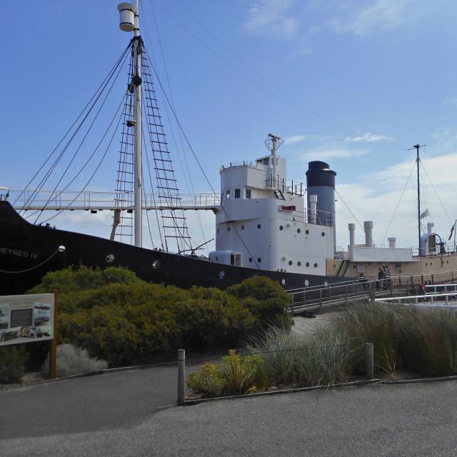 """Cheynes IV,albany whaling station."" stock image"