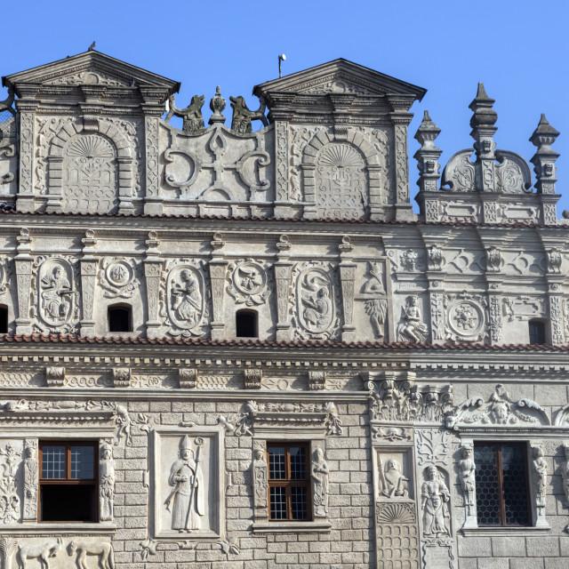 """""""Old architecture of Kazimierz Dolny"""" stock image"""