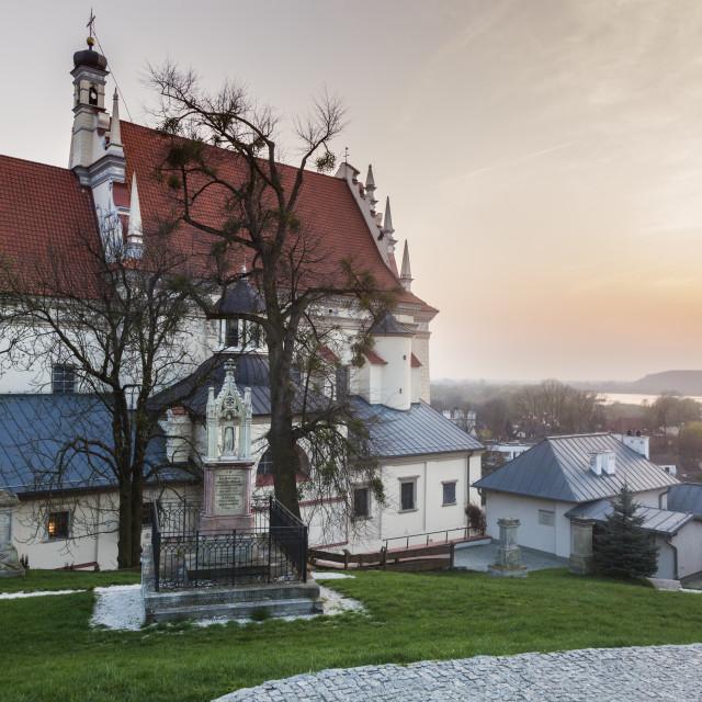 """Parish Church of St. John the Baptist in Kazimierz Dolny"" stock image"