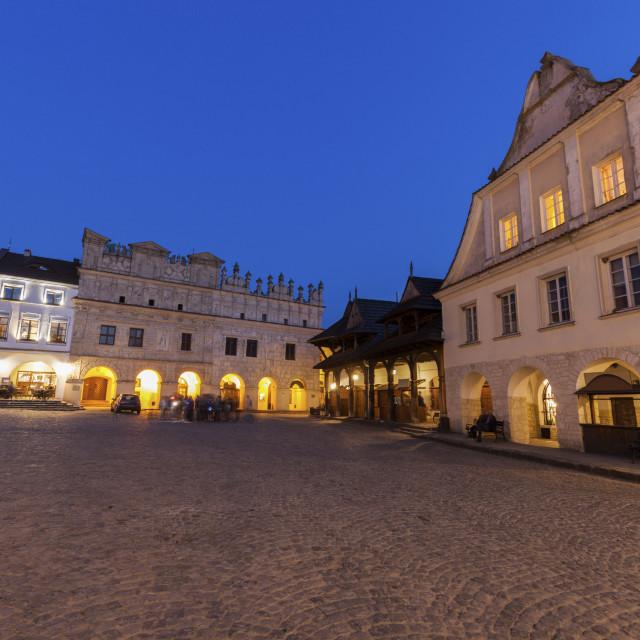 """Market Square in Kazimierz Dolny"" stock image"