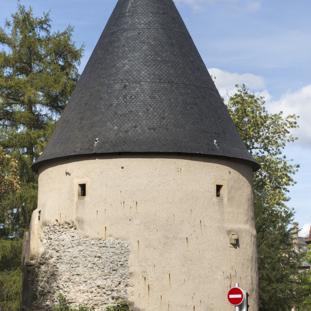 """Camoufle Tower in Metz"" stock image"