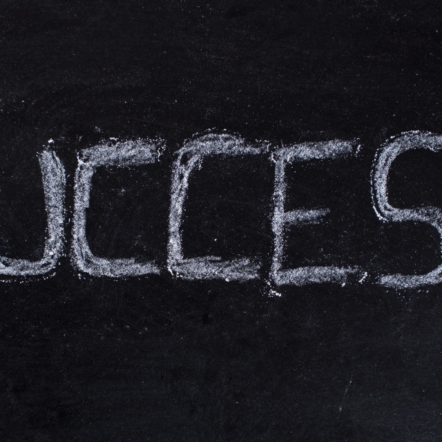"""Success message"" stock image"