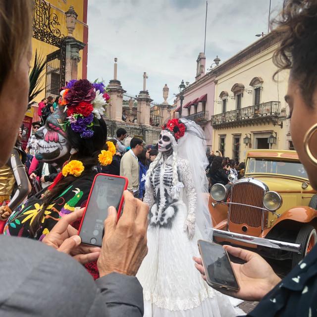 """Catrina Bride"" stock image"