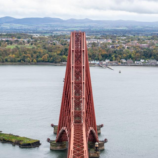 """Top of the famous Bridge"" stock image"