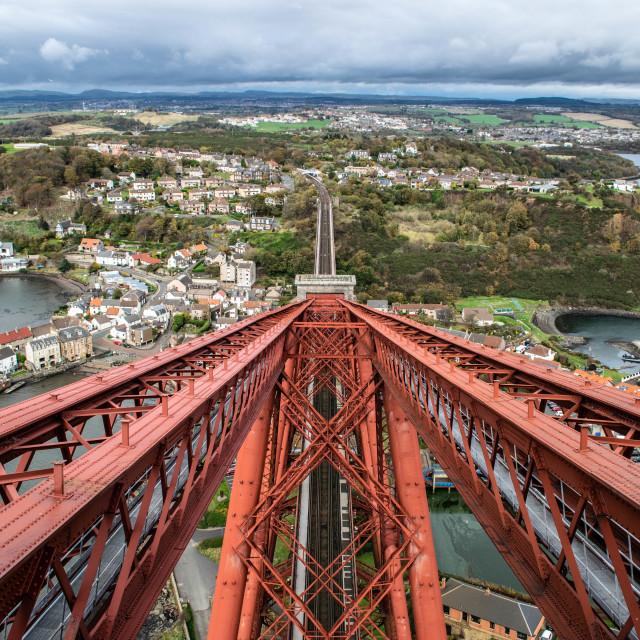 """""""Top of the Bridge"""" stock image"""