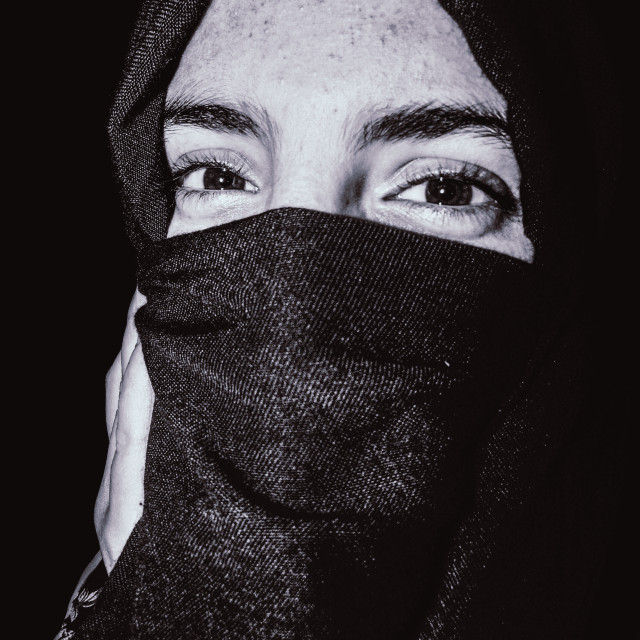 """AMAZIGH WOMAN"" stock image"