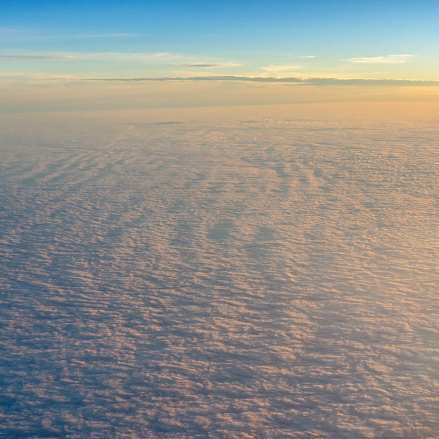 """Cloud landscape"" stock image"