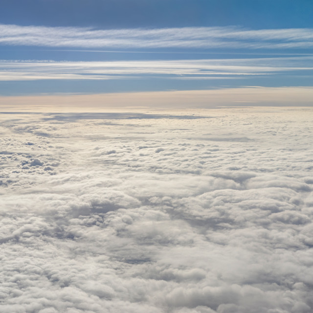 """Vast cloudscape"" stock image"