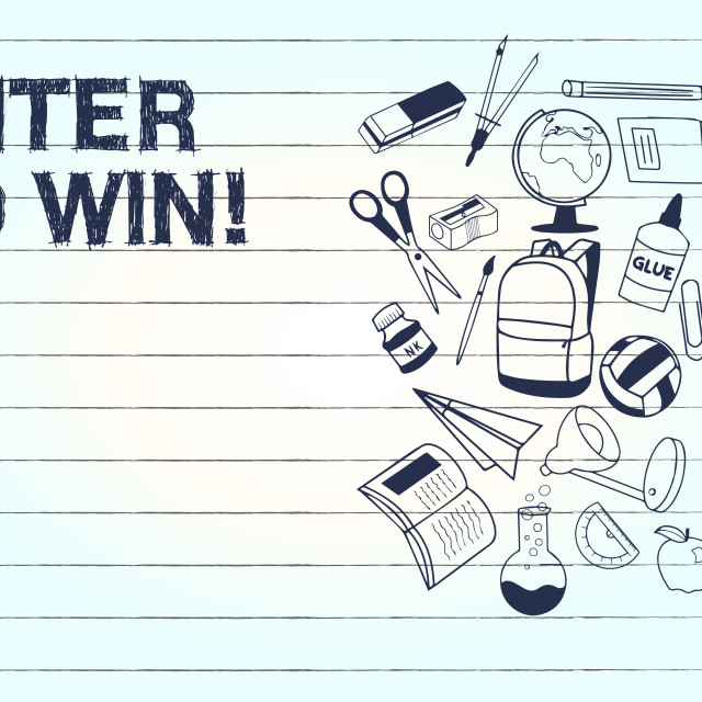 """""""Conceptual hand writing showing Enter To Win. Business photo text Sweepstakes..."""" stock image"""
