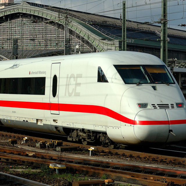 """High Speed Train"" stock image"