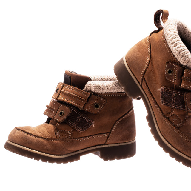 """""""Children's baby shoes. Orthopedic leather shoes"""" stock image"""