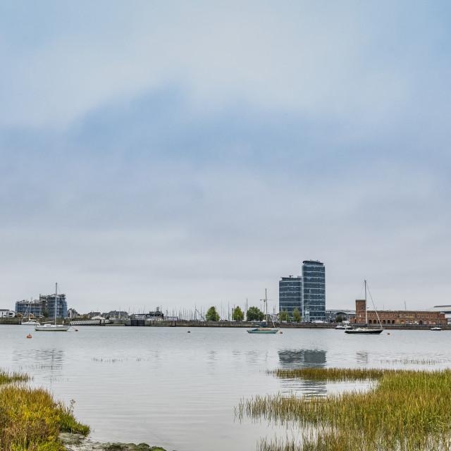 """Boats River Medway Chatham"" stock image"
