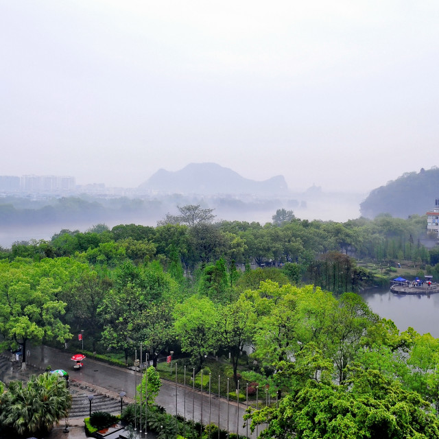 """Guilin City, China"" stock image"