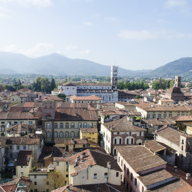 """""""Lucca view"""" stock image"""
