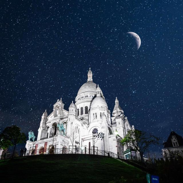 """""""Night in Paris"""" stock image"""