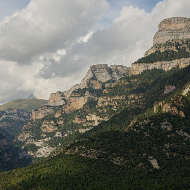 """Anisclo Canyon"" stock image"