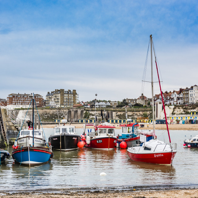 """""""Broadstairs Harbour, Kent"""" stock image"""