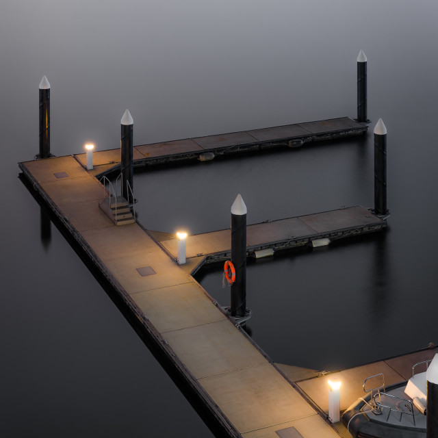 """""""Still waters"""" stock image"""