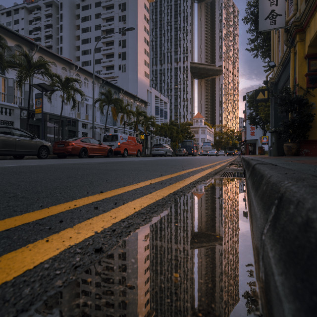 """""""Reflections"""" stock image"""