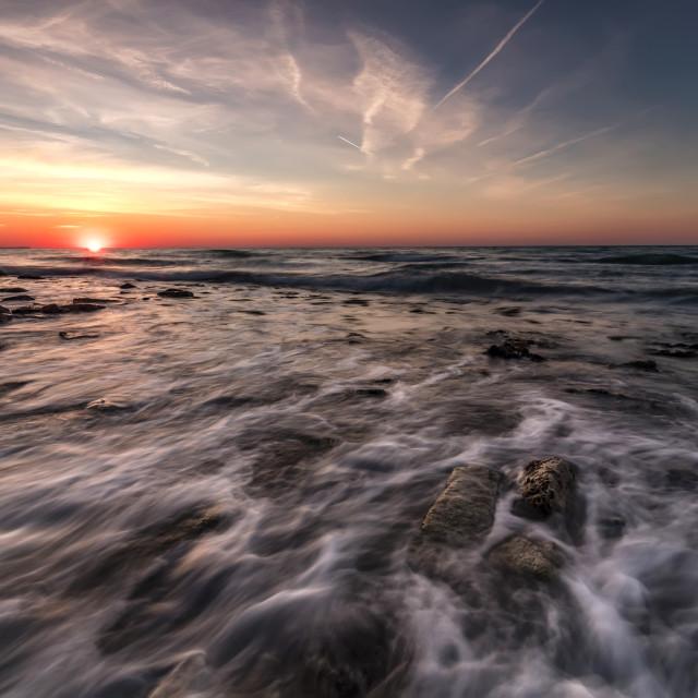 """Beautiful sunrise"" stock image"