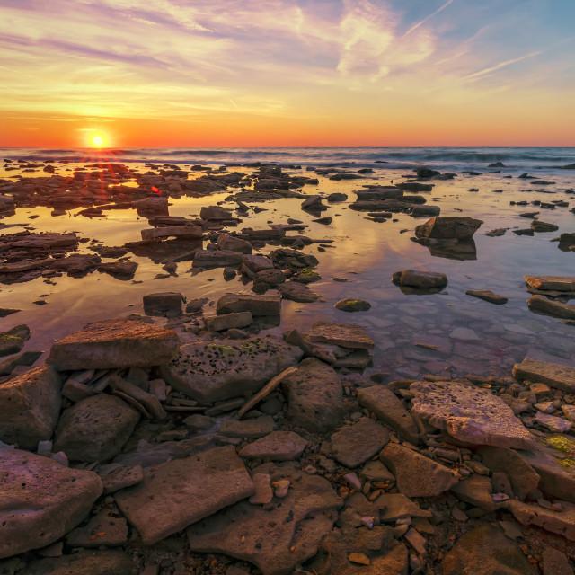 """Sea rocks"" stock image"