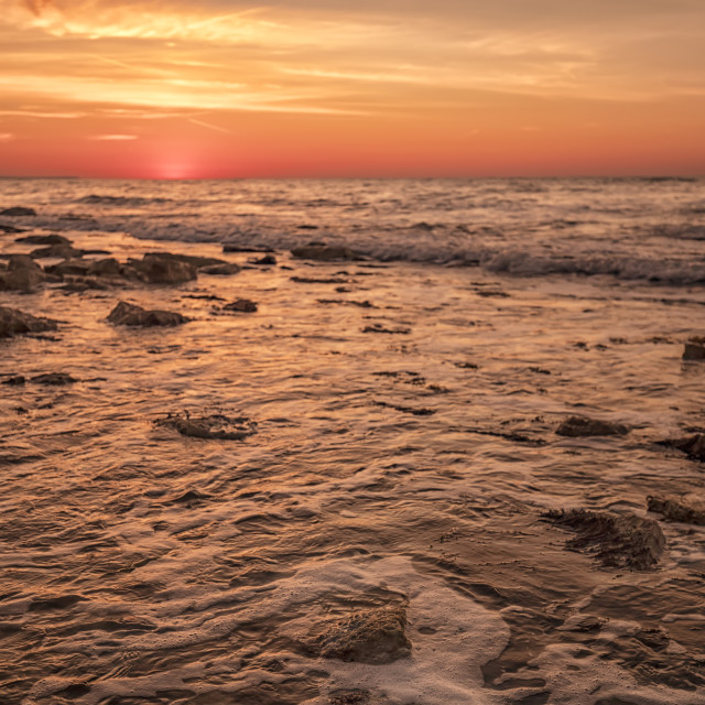 """""""warm sunrise"""" stock image"""
