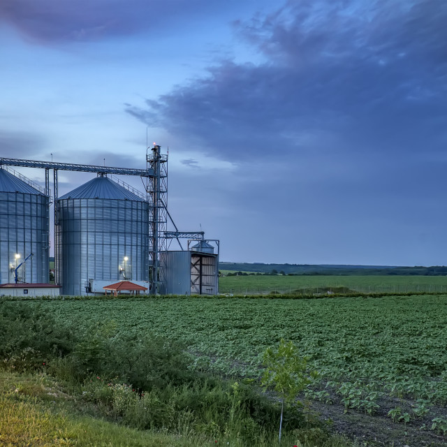 """""""agricultural Silo"""" stock image"""