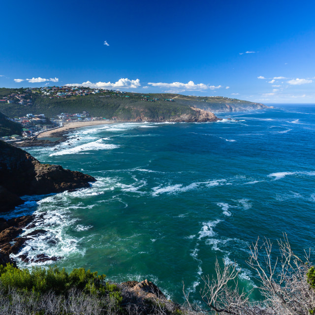 """Herolds Bay Coastline Ocean Horizon"" stock image"
