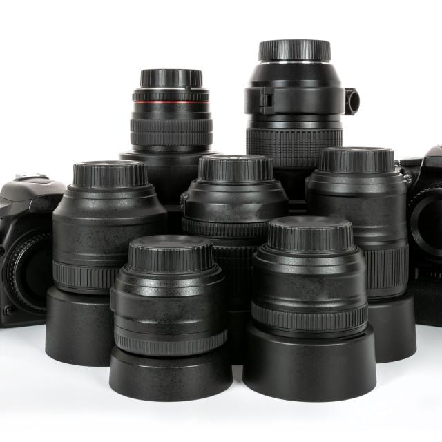 """Professional photographic equipment"" stock image"