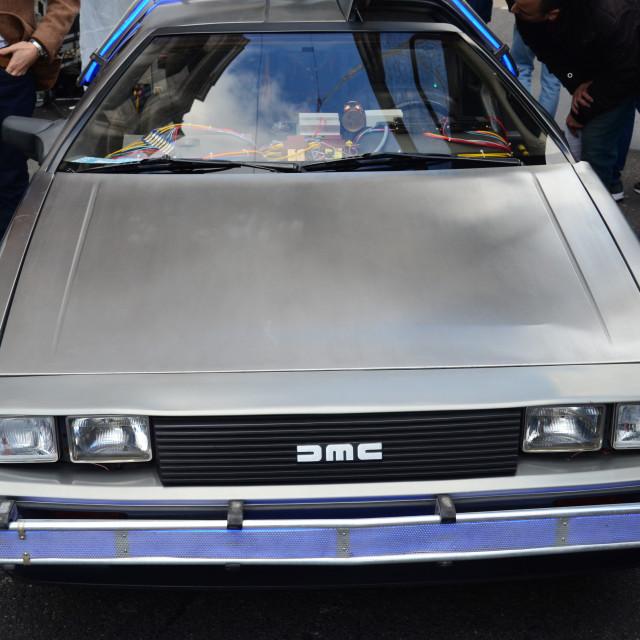 """""""DeLorean"""" stock image"""