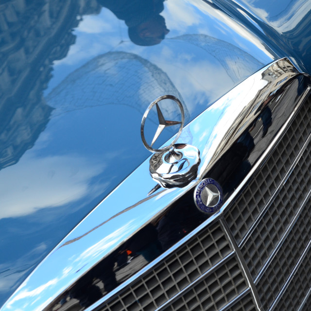 """Mercedes Benz"" stock image"