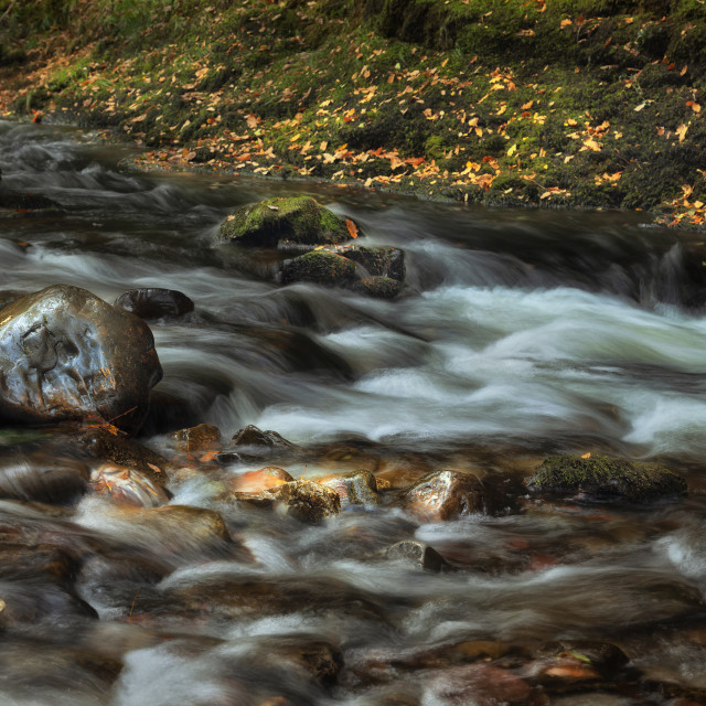 """The Afon Pyrddin"" stock image"