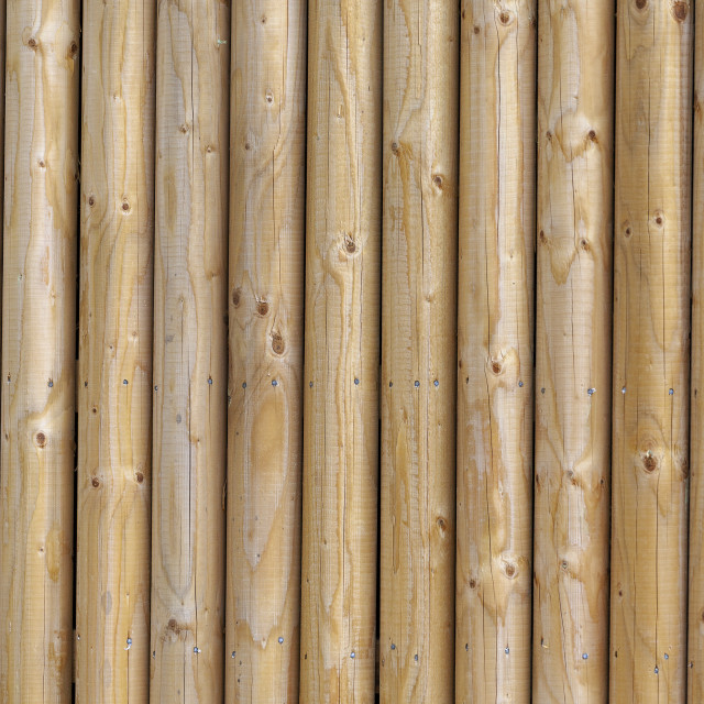 """Vertical wooden posts"" stock image"