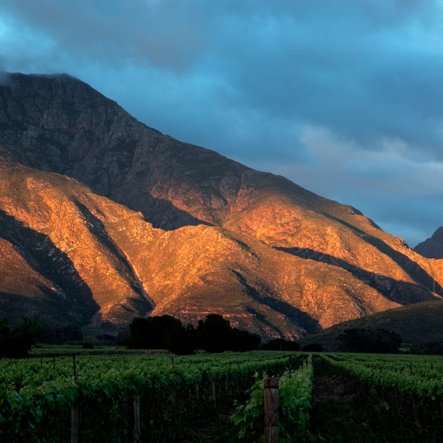 """Scenic mountain landscape"" stock image"